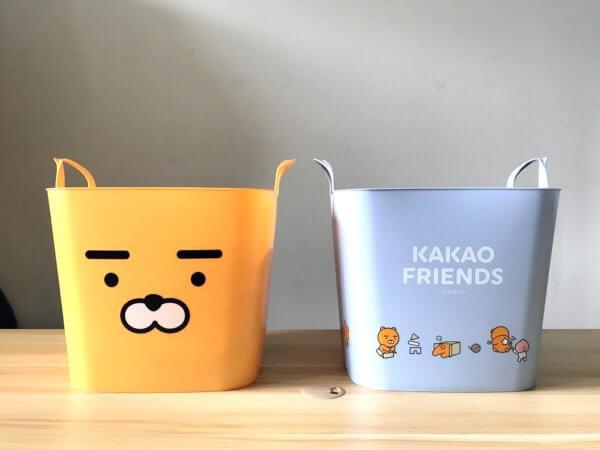 kakaofriends塑膠收納籃_01