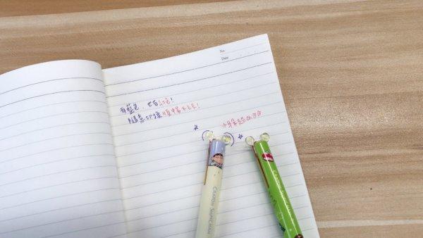 蠟筆小新雙色原子筆_01