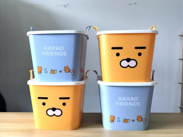 kakaofriends塑膠收納籃_14