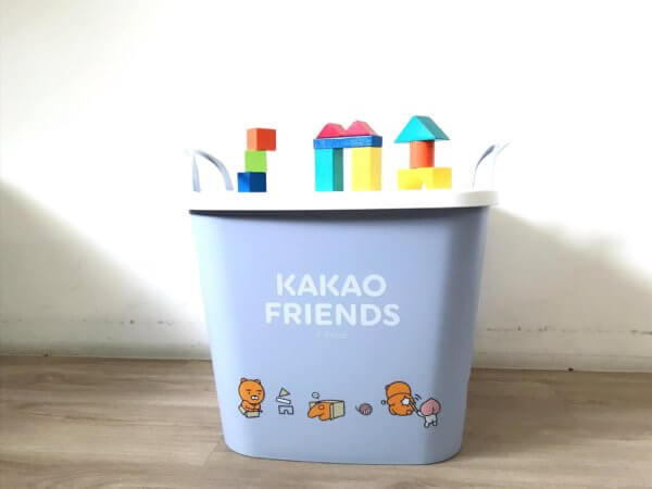 kakaofriends塑膠收納籃_15