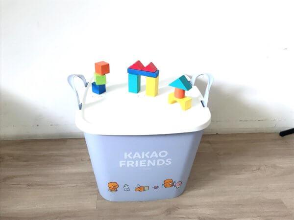 kakaofriends塑膠收納籃_16