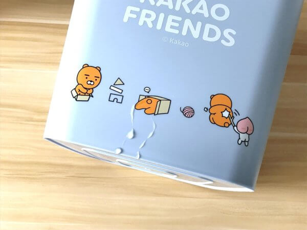 kakaofriends塑膠收納籃_17