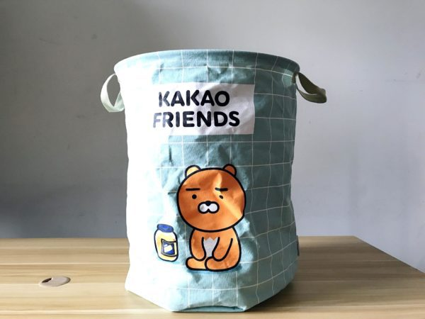 kakaofriends棉麻聚酯收納籃_02