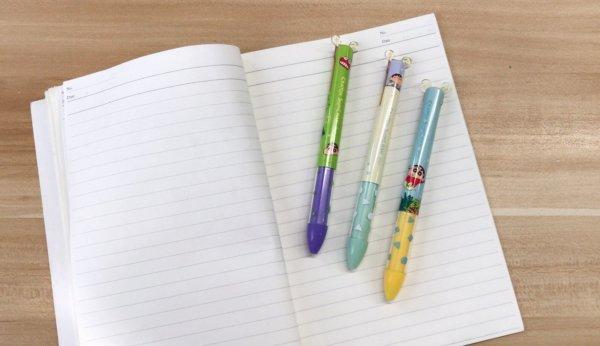 蠟筆小新雙色原子筆_02