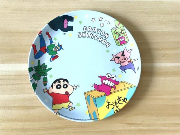 蠟筆小新美耐皿餐盤_03