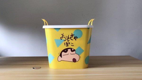 蠟筆小新塑膠收納籃_04