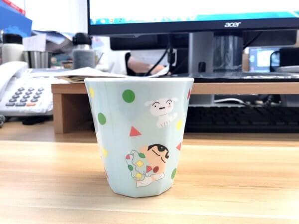 蠟筆小新美耐皿水杯_05