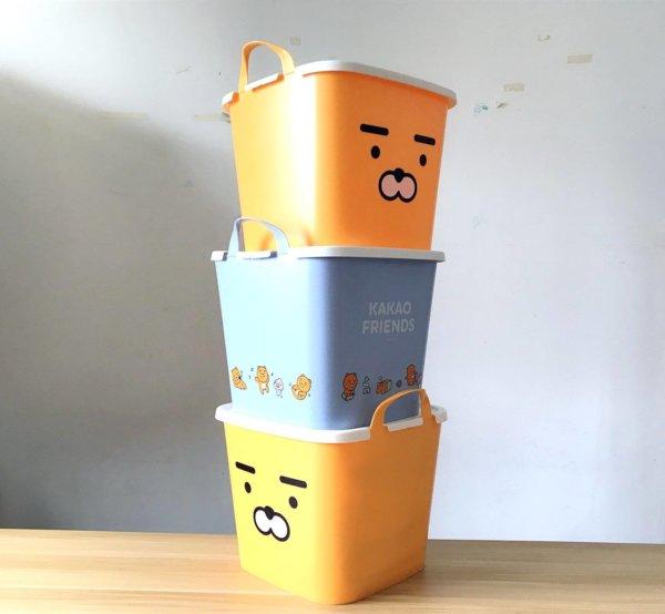 kakaofriends塑膠收納籃_08