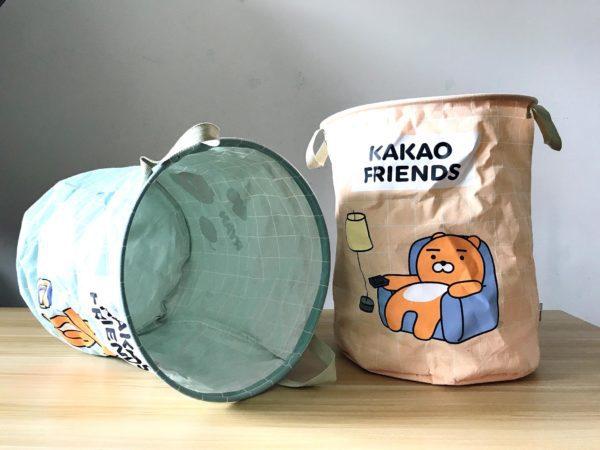 kakaofriends棉麻聚酯收納籃_08