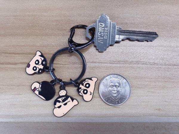 蠟筆小新串串鑰匙圈_10