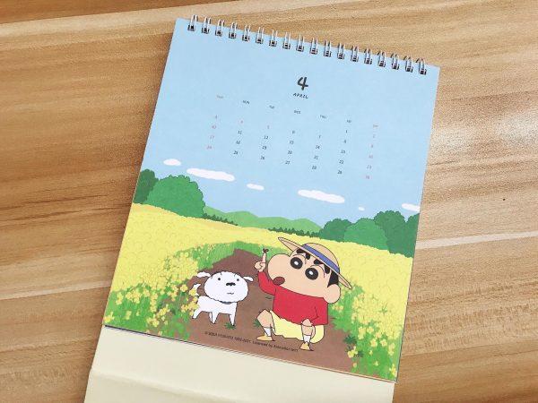 2022年蠟筆小新桌曆_09