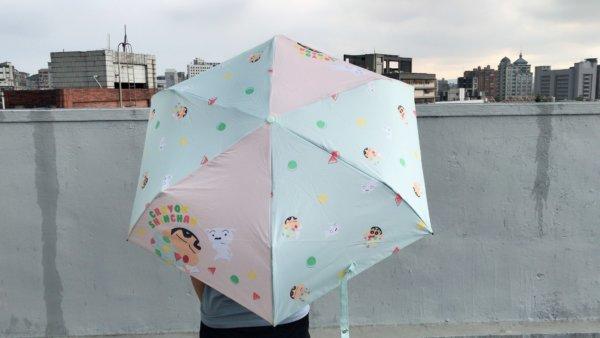 蠟筆小新彎把折疊雨傘_04