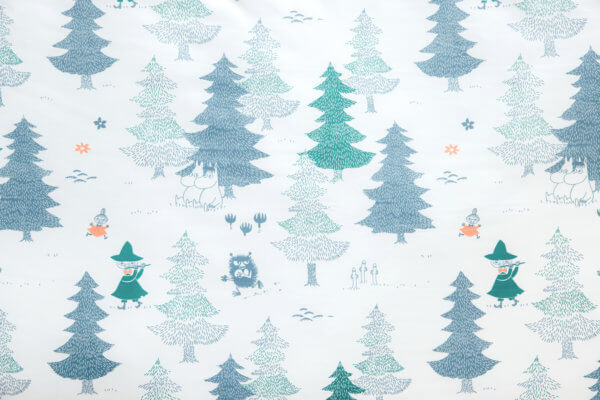 Moomin森林天絲寢具_01
